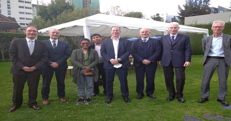 Eva recibe respaldo de embajadores de la UE para impulsar su gestión edil