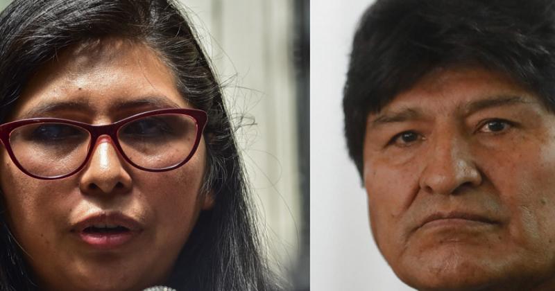 Evo Morales tilda de «traidora» a Eva Copa y ella señala que es un «político mentiroso»