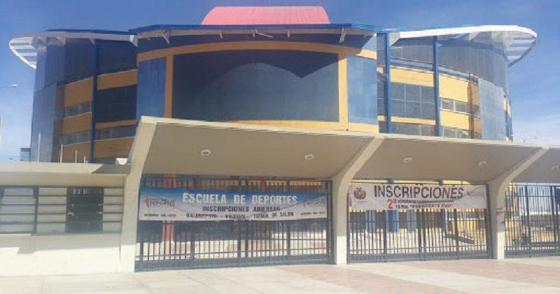 Deportes reabre polideportivo para impulsar talentos en la niñez y juventud de El Alto