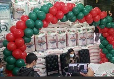 Emapa regala Bs 50 en la compra de arroz a las familias paceñas