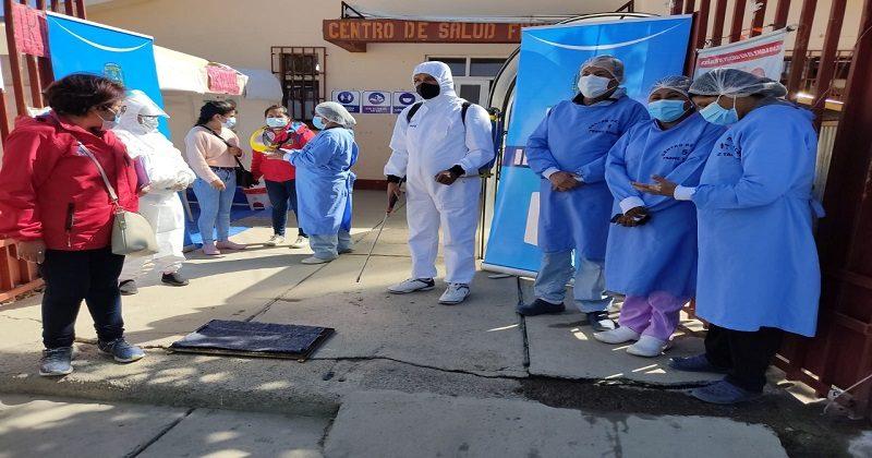 Alcaldía entregará víveres a quienes acudan a vacunarse contra el Covid-19 este domingo