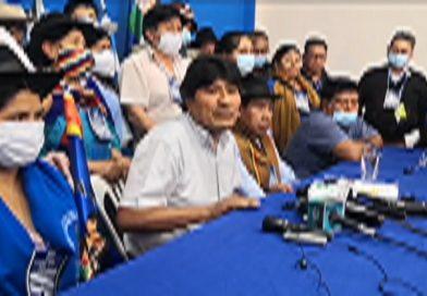 Congreso orgánico estatutario del MAS-IPSP ratifica compromiso de defensa al presidente Arce