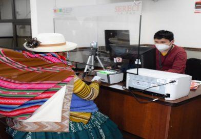 El Alto estrena una oficina desconcentrada del Servicio de Registro Cívico