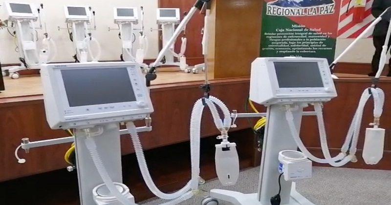 La CNS fortalece la UTI del Hospital Obrero de El Alto con 10 respiradores nuevos